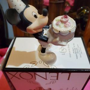 Lenox Mickey's Happy Birthday to you October